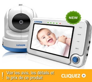 babyphone luvion avec une cam ra vid o num rique design. Black Bedroom Furniture Sets. Home Design Ideas