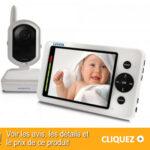 Babyphone Luvion avec une caméra vidéo Numérique Design