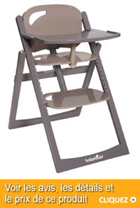 Chaise haute slim Babymoov