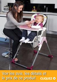 Chaise haute Babymoov