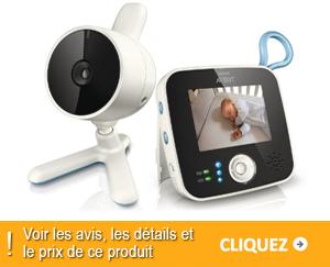 babyphone vidéo Philips