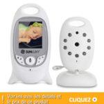 Babyphone Sunluxy 2″ LCD Couleur : l'écoute bébé moniteur vidéo
