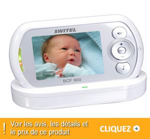 écoute bébé Switel DCF900