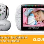 Babyphone Vidéo Motorola MBP36 : comparatif d'achat et test