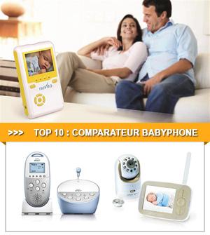 Comparatif du babyphone et ecoute bébé