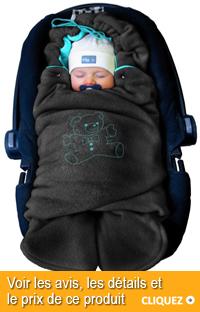 couverture polaire bébé