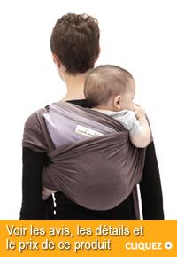 écharpe de portage de bébé