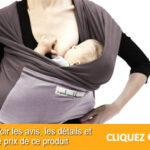 L'écharpe de portage bébé pour le confort et le bien-être