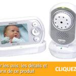 Babyphone Switel DCF900 : Ecoute bébé vidéo