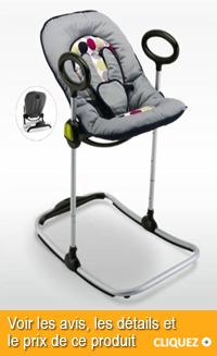 Transat bébé pliable