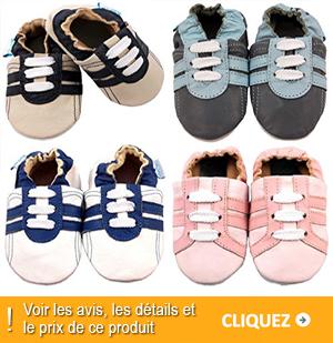 chaussures souples bébé
