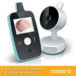 Babyphone Philips Avent : écoute bébé vidéo Jour et Nuit SCD603/00