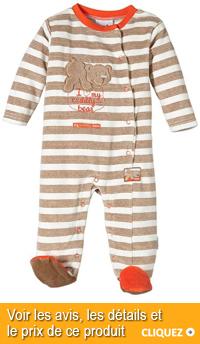 pyjama velours bébé garçon