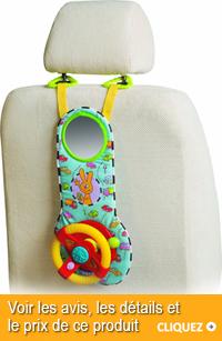 jouet pour occuper bébé en voiture