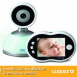 Babyphone Tomy 71030 : écoute-Bébé Digital Plus Vidéo TDV450